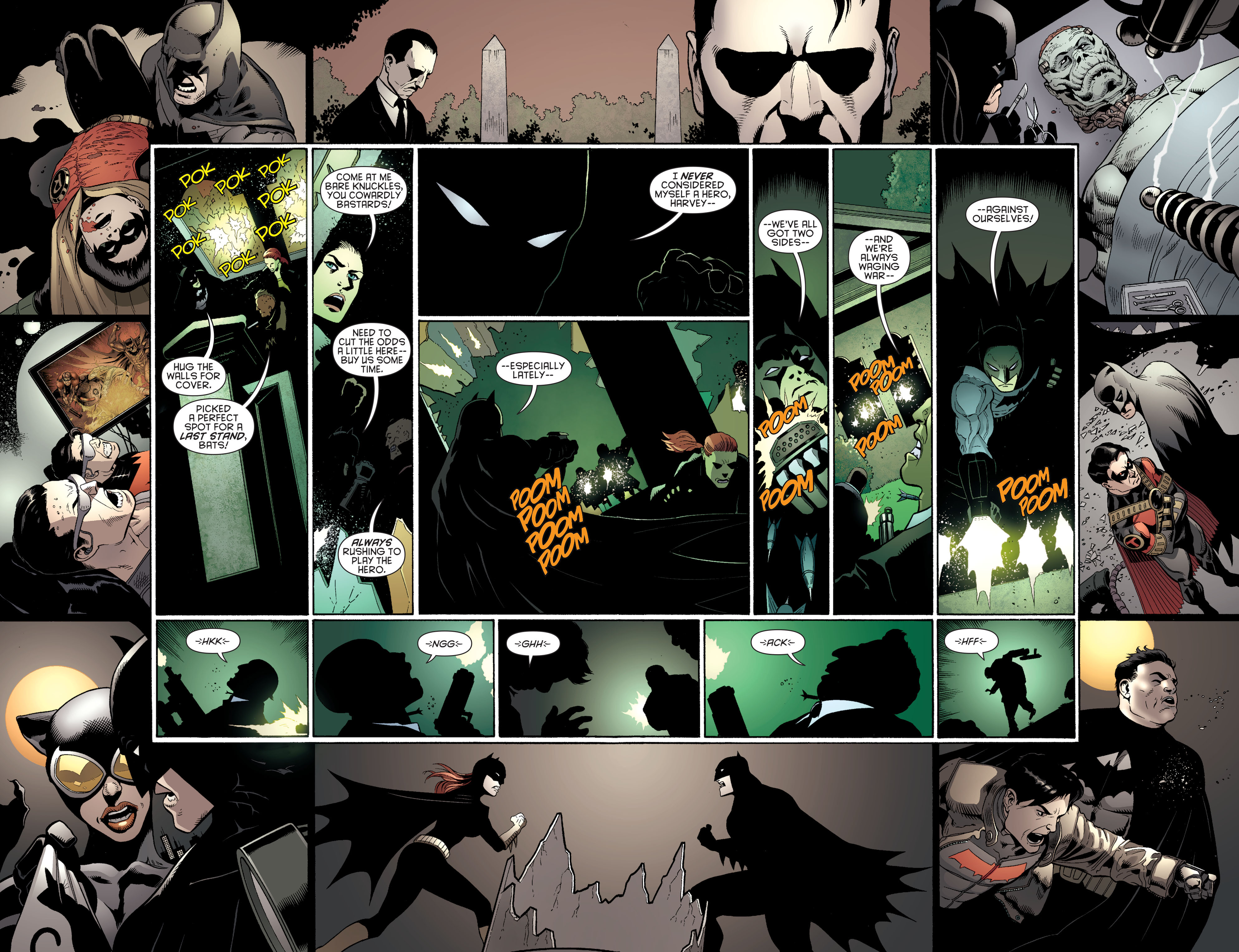 Read online Batman and Robin (2011) comic -  Issue #27 - Batman and Two-Face - 9