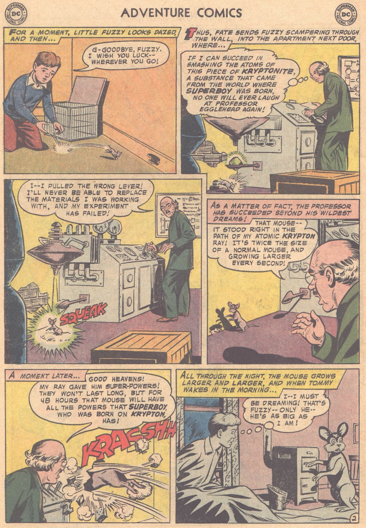 Read online Adventure Comics (1938) comic -  Issue #318 - 26