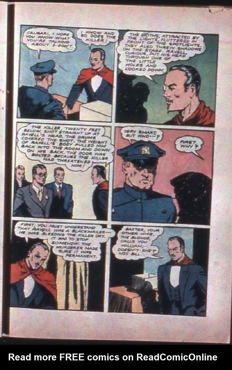 Read online Super-Magician Comics comic -  Issue #7 - 46