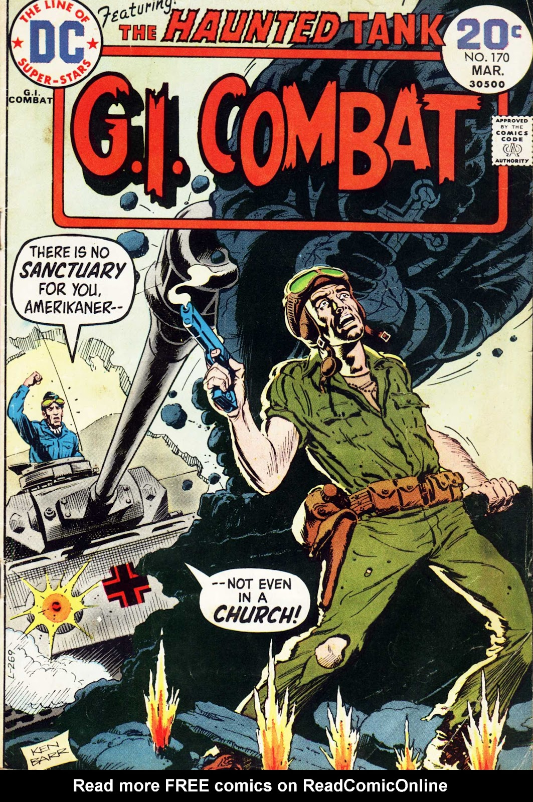 G.I. Combat (1952) issue 170 - Page 1