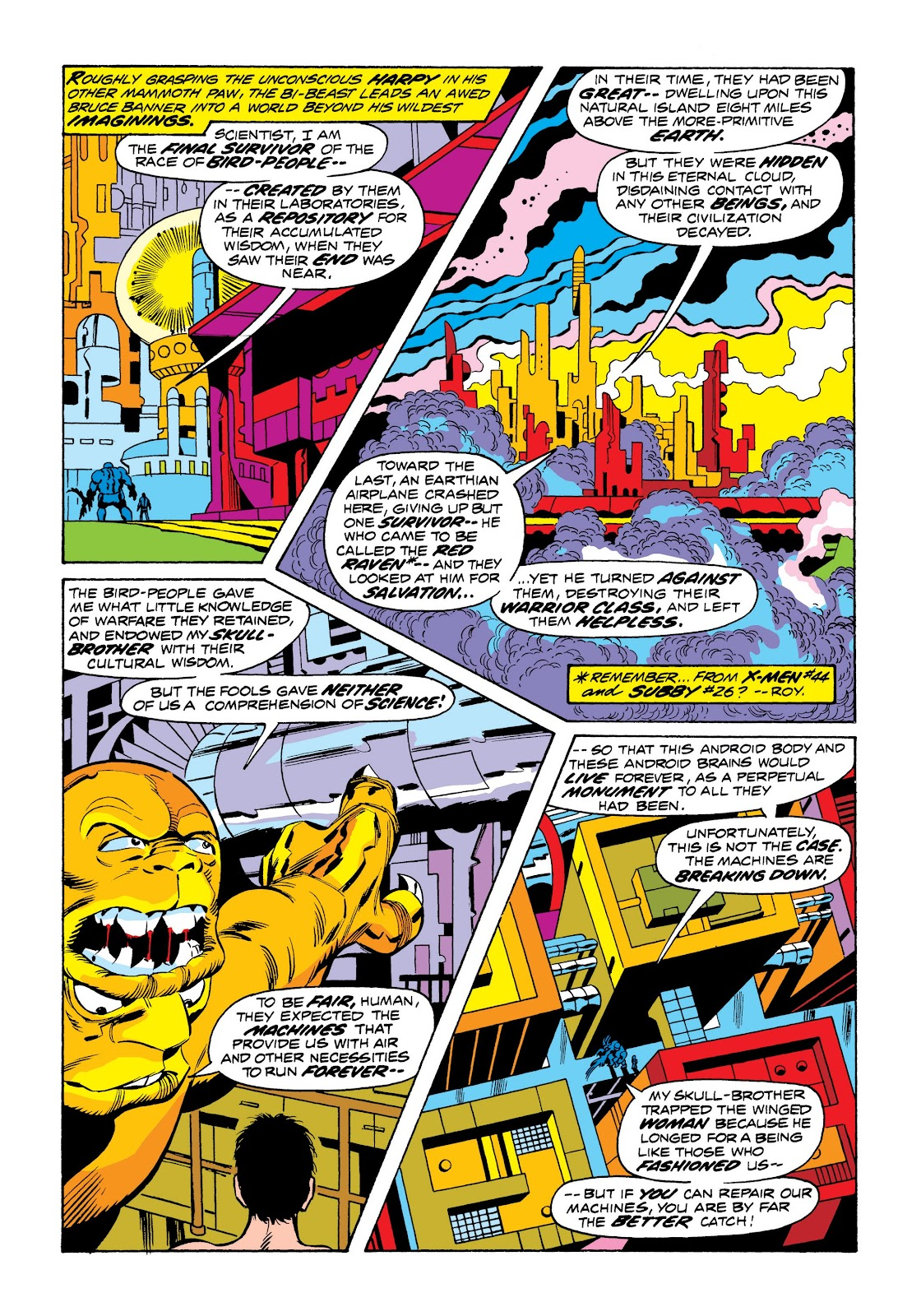 Read online Marvel Masterworks: The Incredible Hulk comic -  Issue # TPB 9 (Part 3) - 68