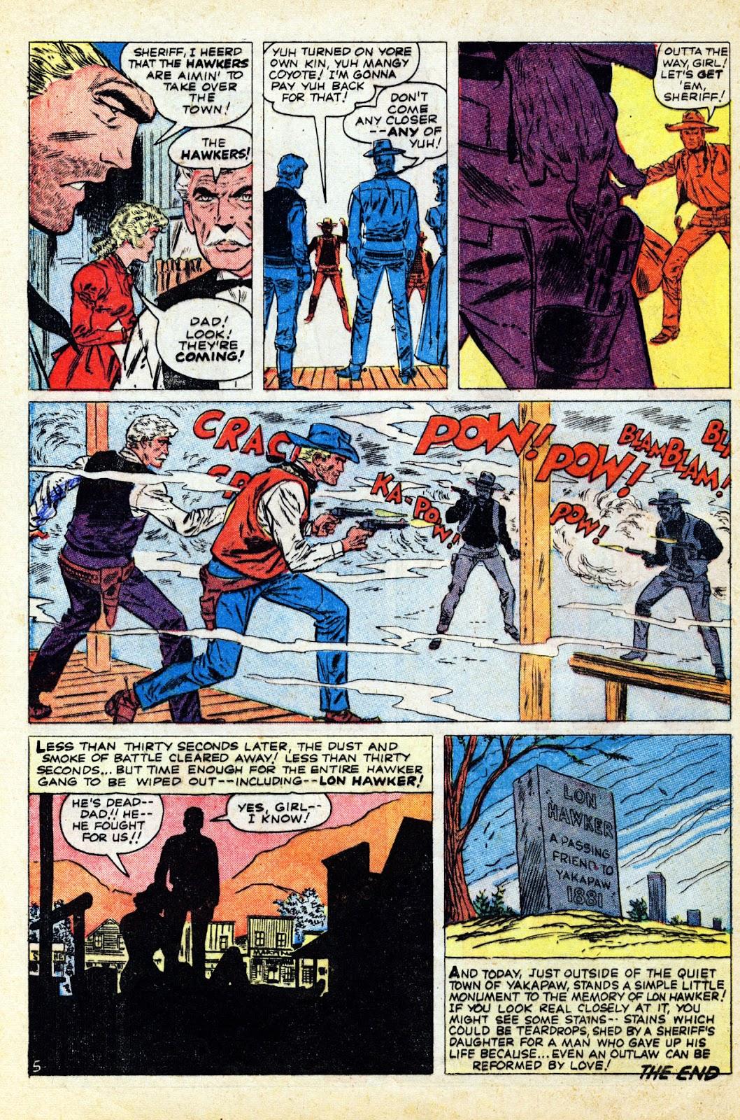 Gunsmoke Western issue 65 - Page 32