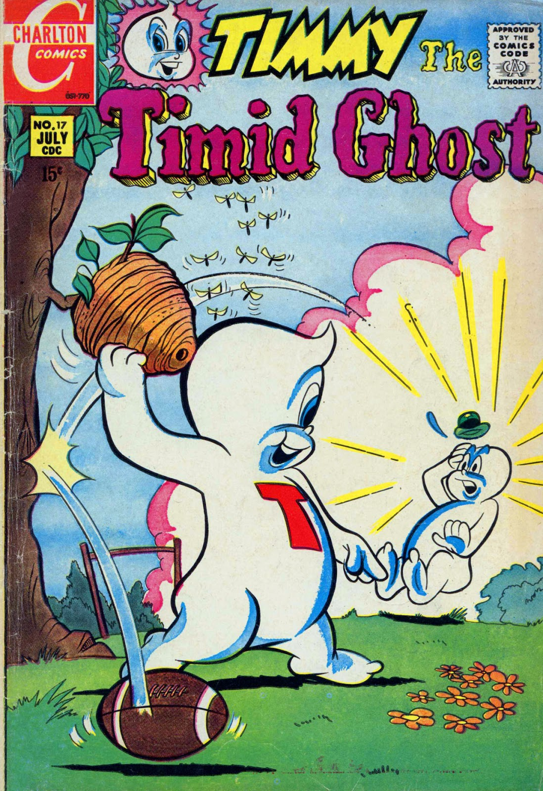 Read online Timmy the Timid Ghost comic -  Issue #17 - 1
