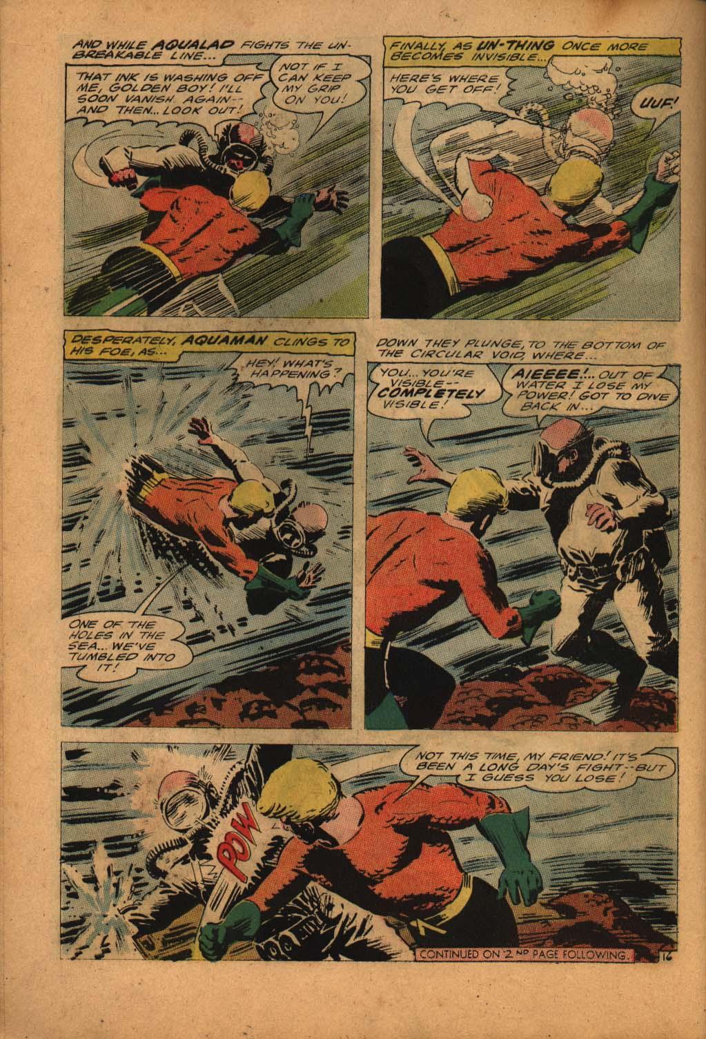 Read online Aquaman (1962) comic -  Issue #24 - 22