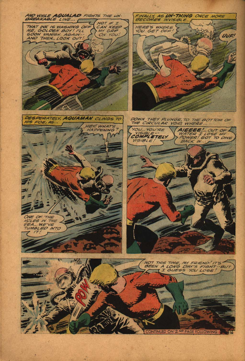 Aquaman (1962) Issue #24 #24 - English 22