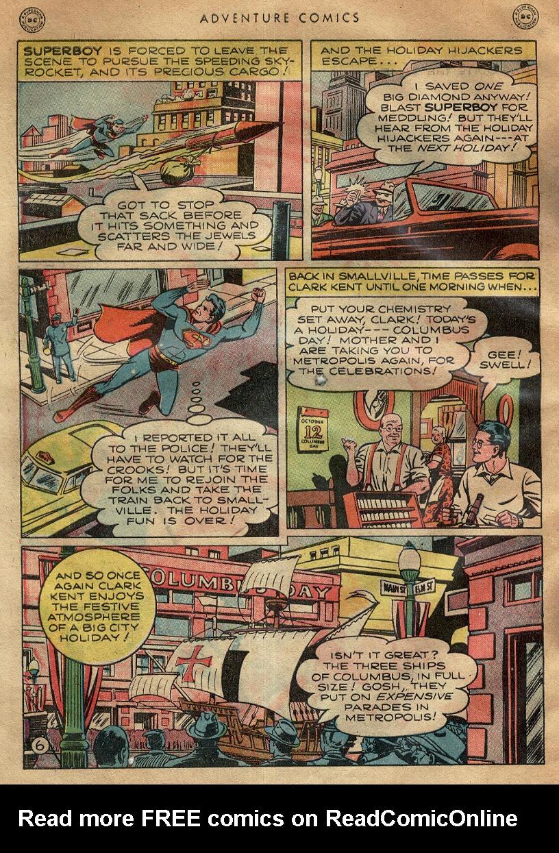 Read online Adventure Comics (1938) comic -  Issue #145 - 8