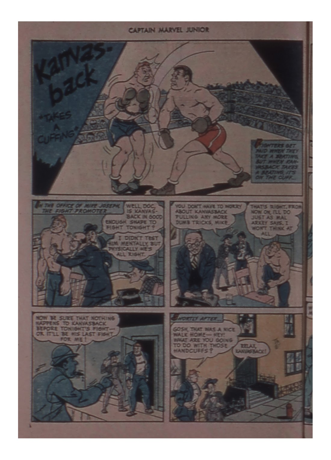 Captain Marvel, Jr. issue 58 - Page 38