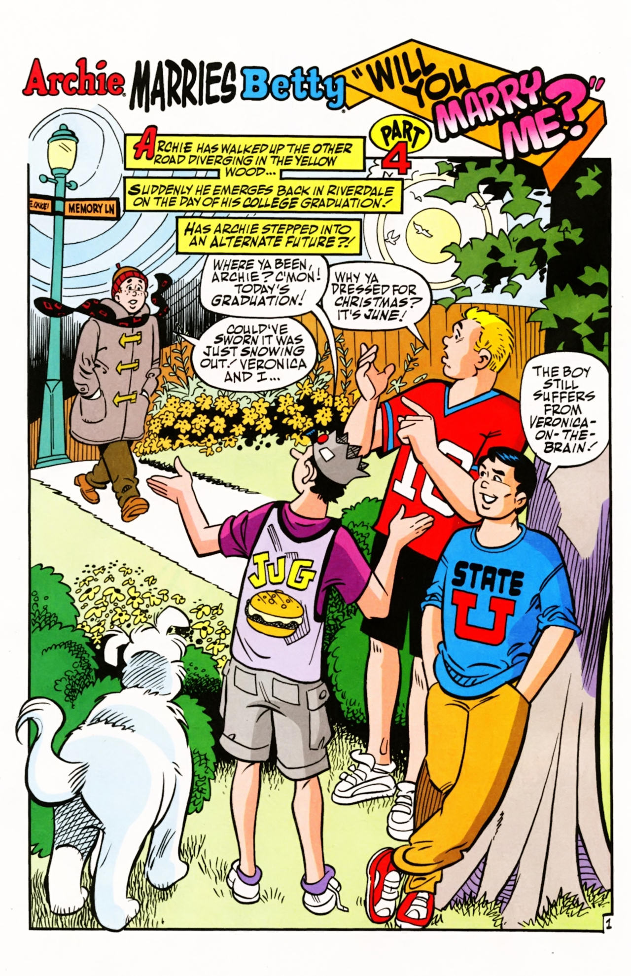 Read online Archie (1960) comic -  Issue #603 - 4