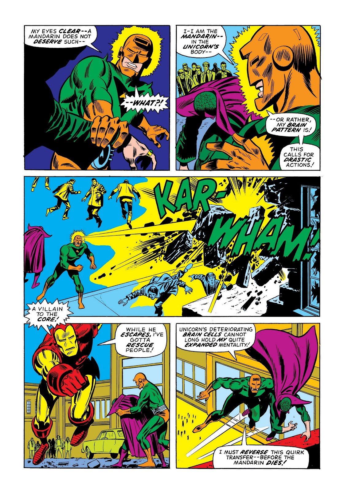 Read online Marvel Masterworks: The Invincible Iron Man comic -  Issue # TPB 9 (Part 2) - 9