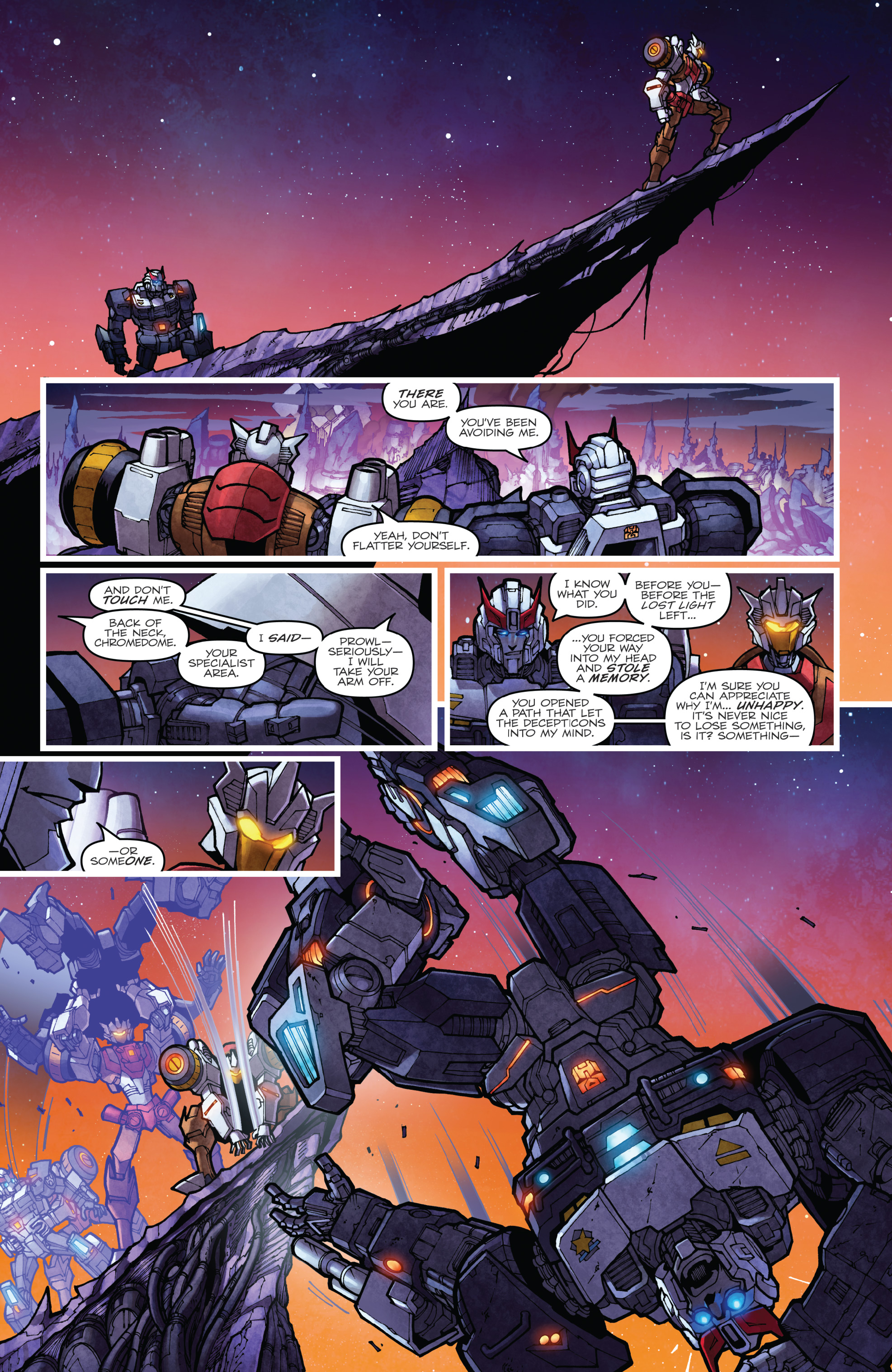 Read online The Transformers: Dark Cybertron Finale comic -  Issue # Full - 91