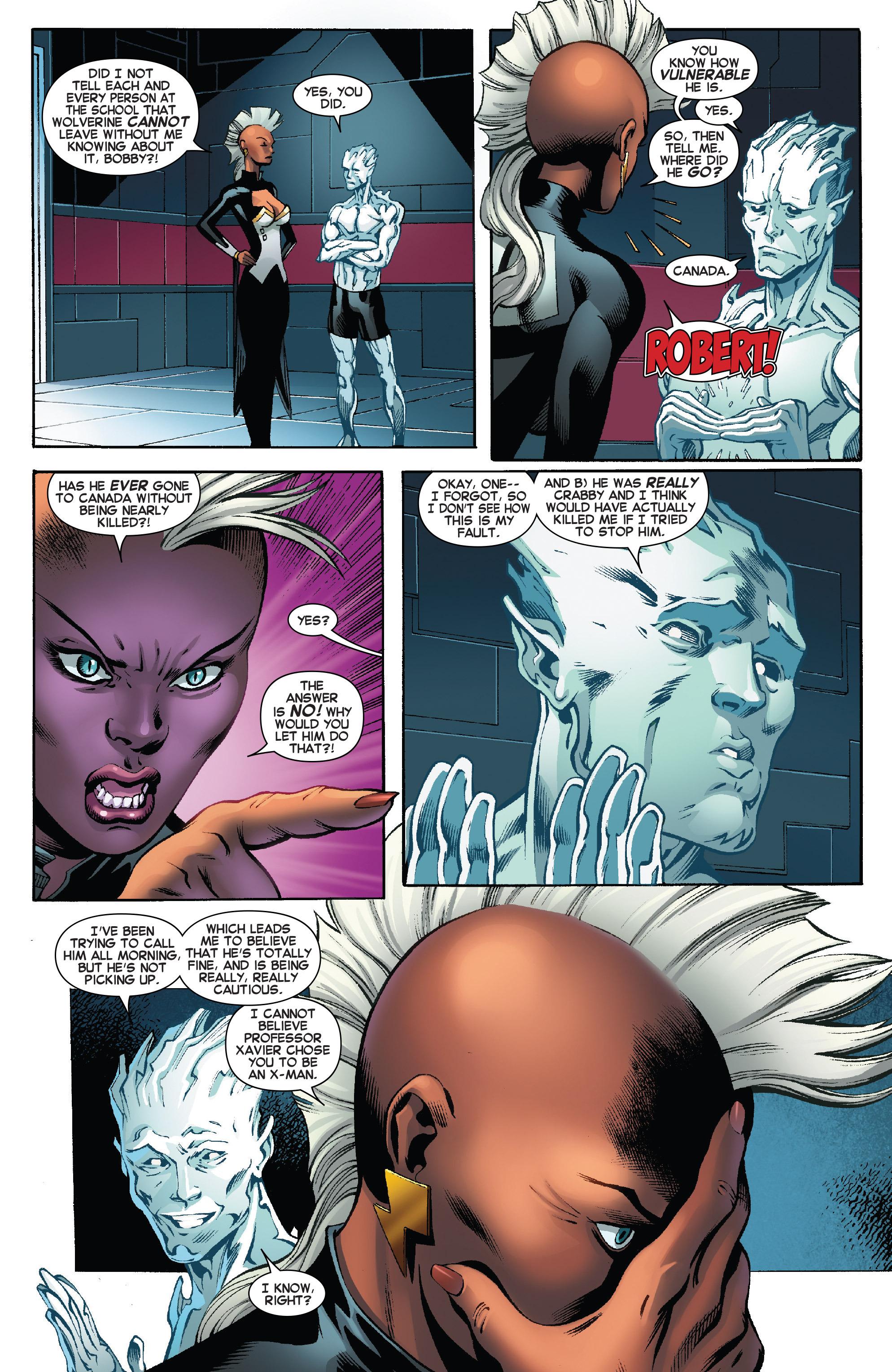 Read online Amazing X-Men (2014) comic -  Issue #8 - 10