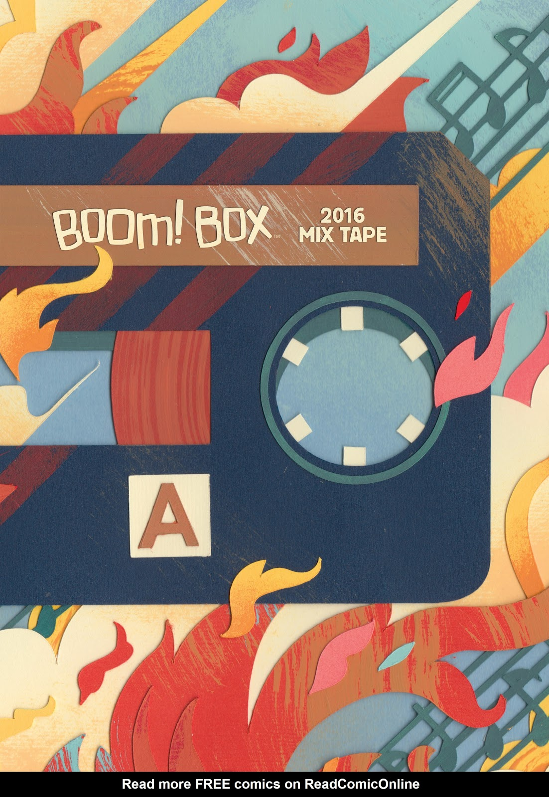 BOOM! Box 2016 Mix Tape issue Full - Page 1