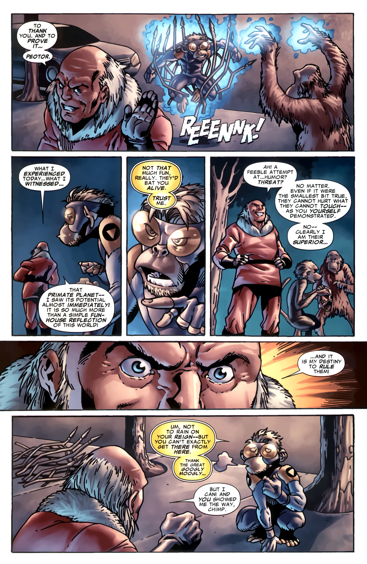 Read online Marvel Apes: Speedball Special comic -  Issue # Full - 30