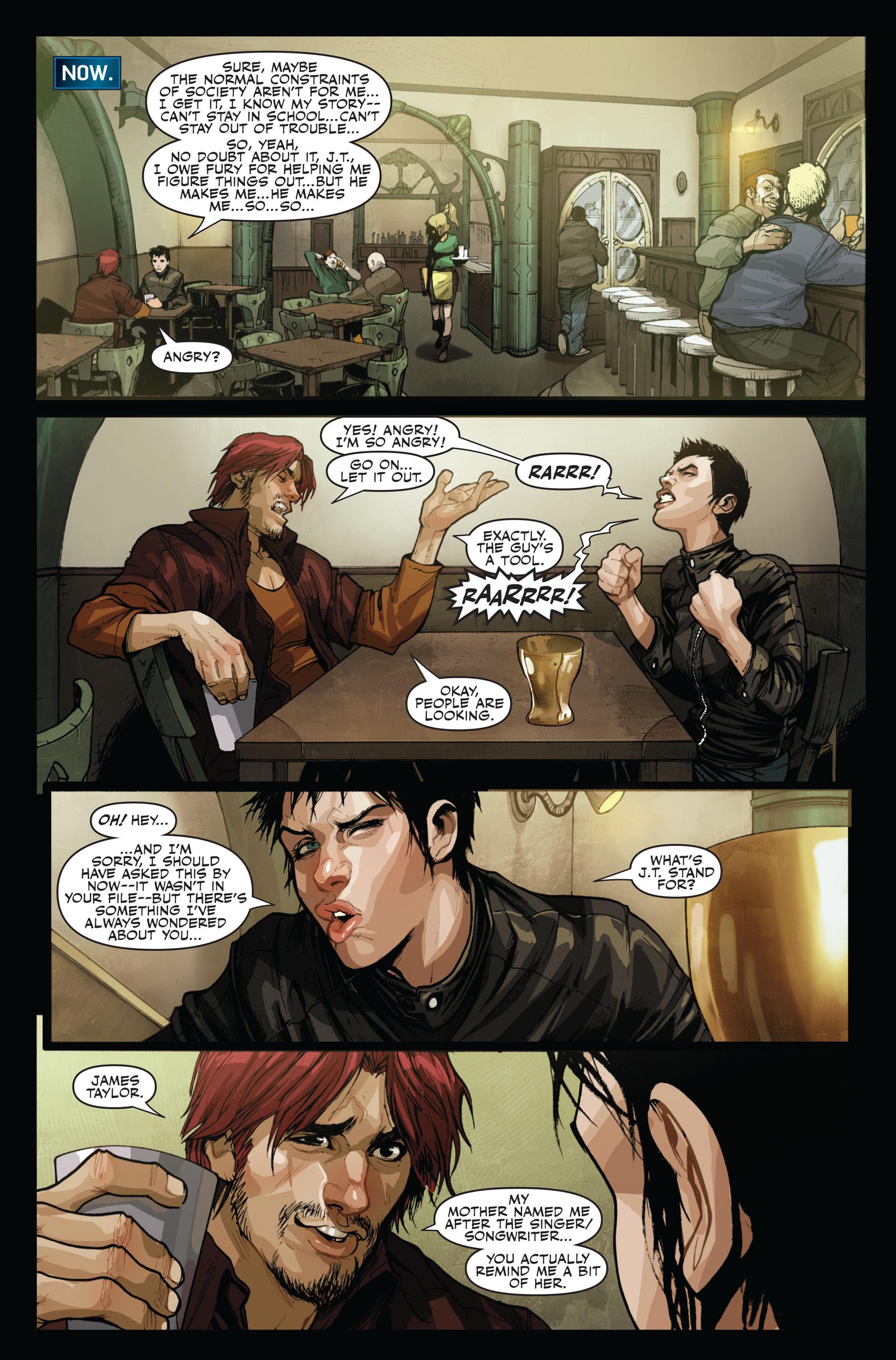 Read online Secret Warriors comic -  Issue #14 - 15