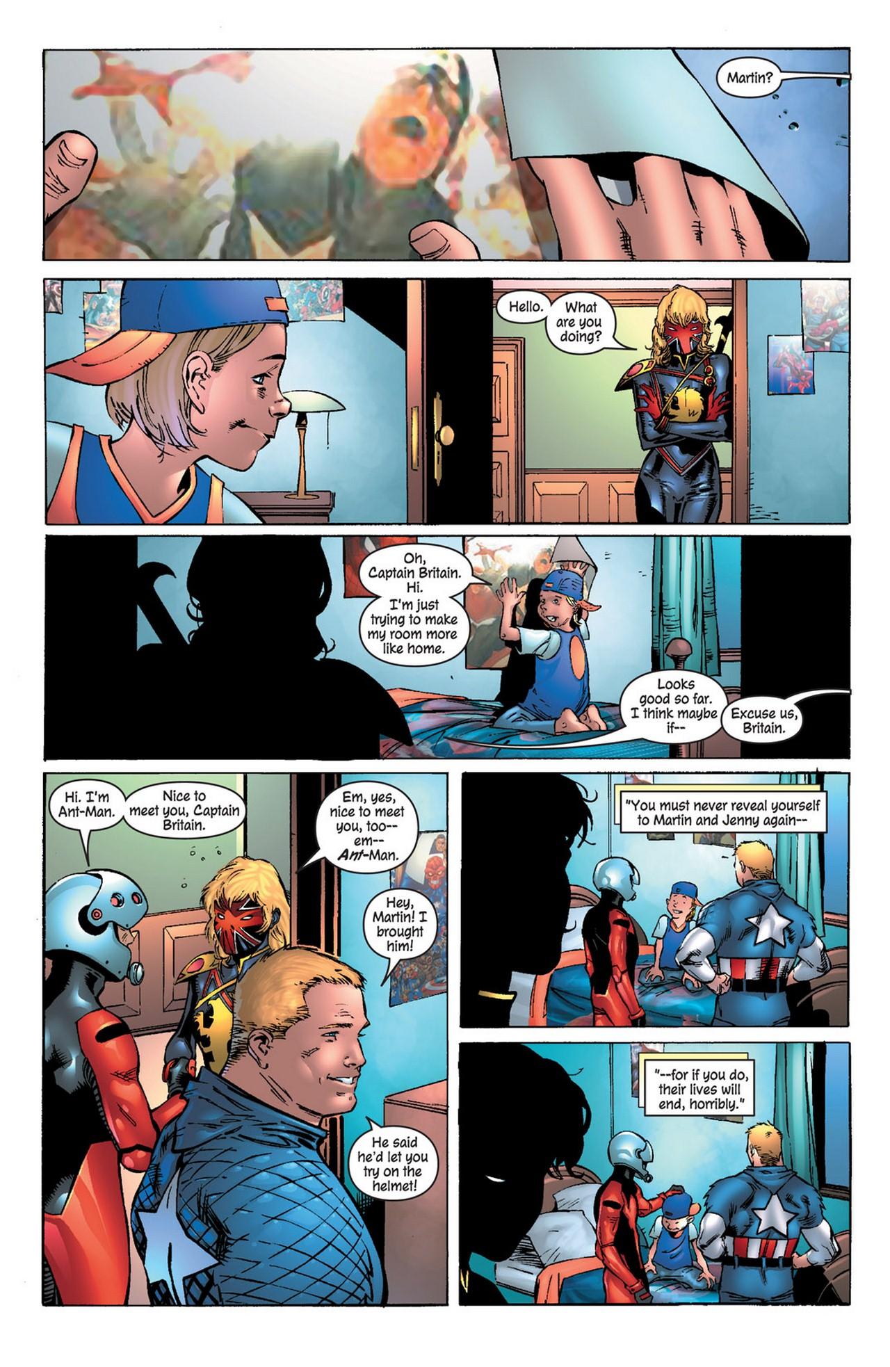 Read online Avengers (1998) comic -  Issue #81 - 20