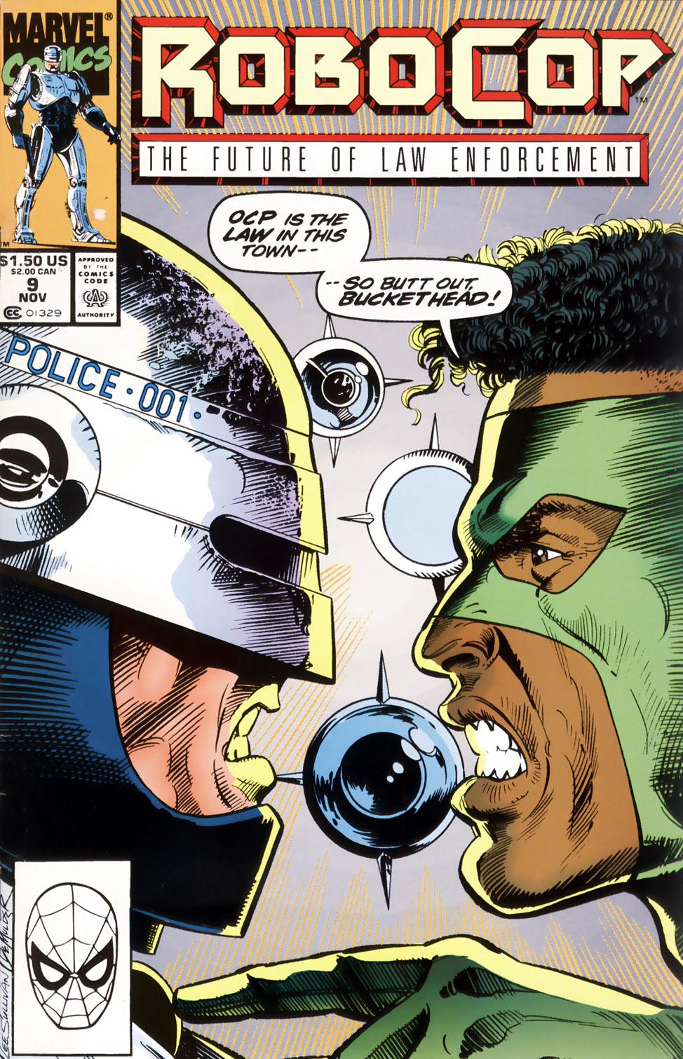 Read online Robocop (1990) comic -  Issue #9 - 1