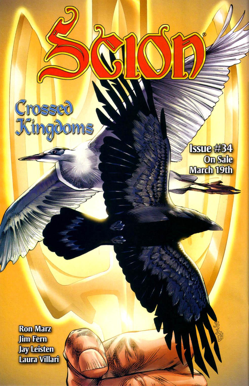 Read online Scion comic -  Issue #33 - 26