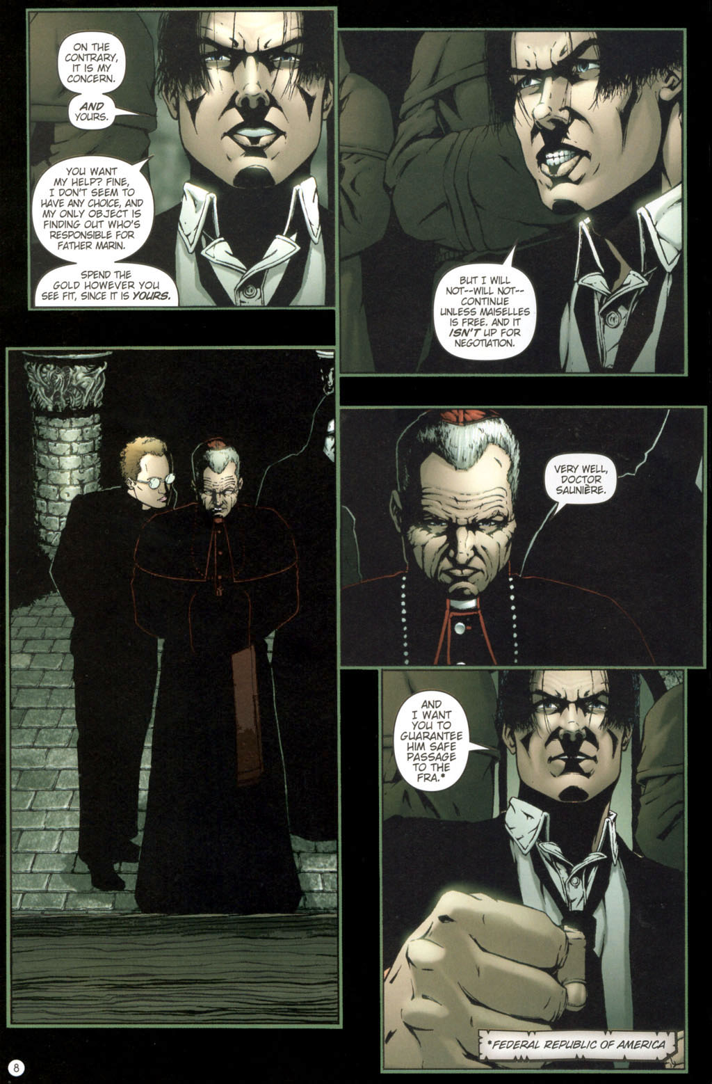 Read online Rex Mundi comic -  Issue #11 - 12