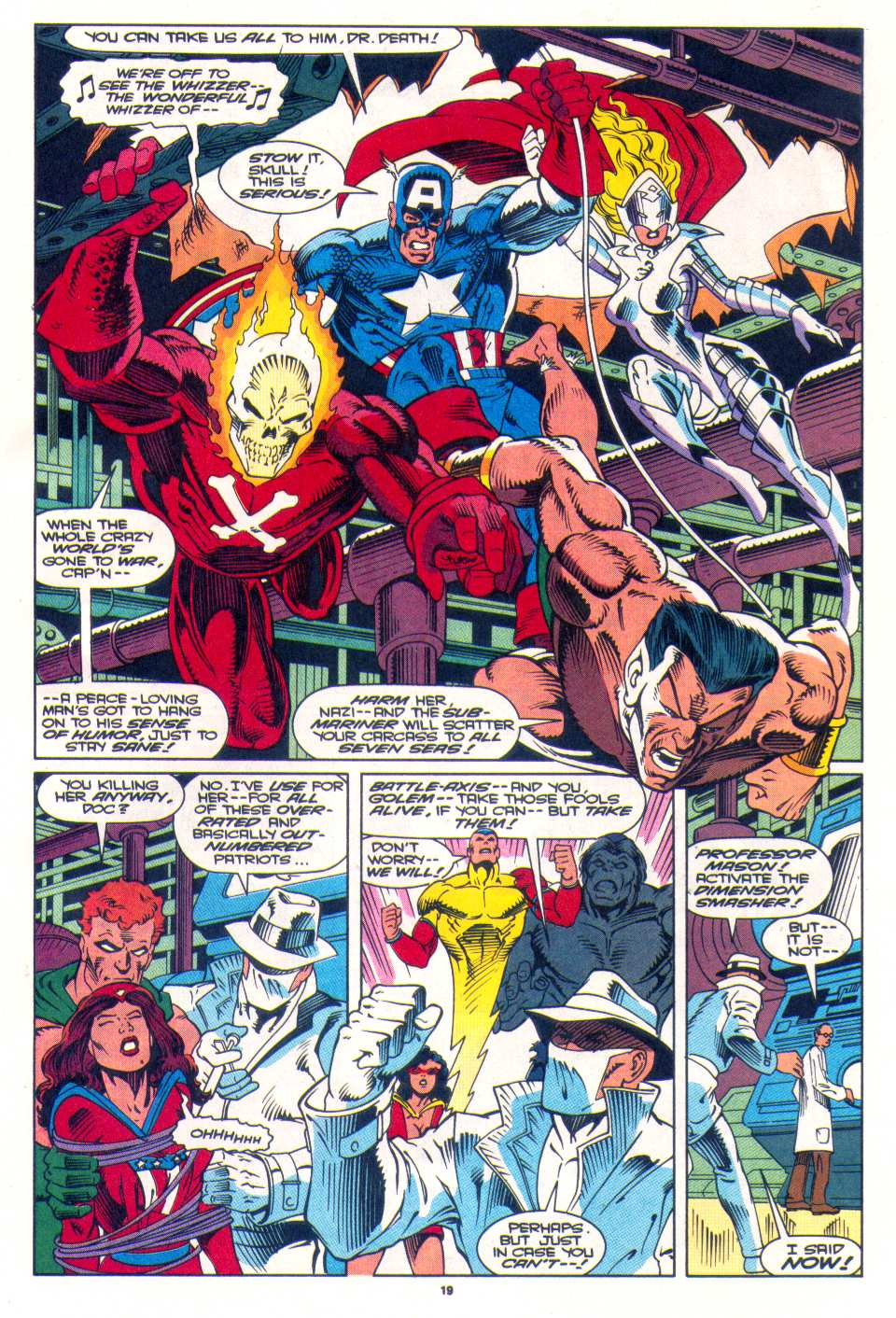 Read online The Invaders (1993) comic -  Issue #3 - 16