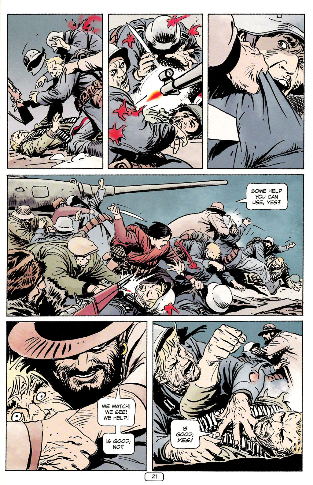 Read online Sgt. Rock: The Prophecy comic -  Issue #4 - 21