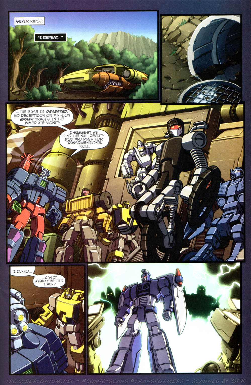 Read online Transformers Armada comic -  Issue #15 - 20