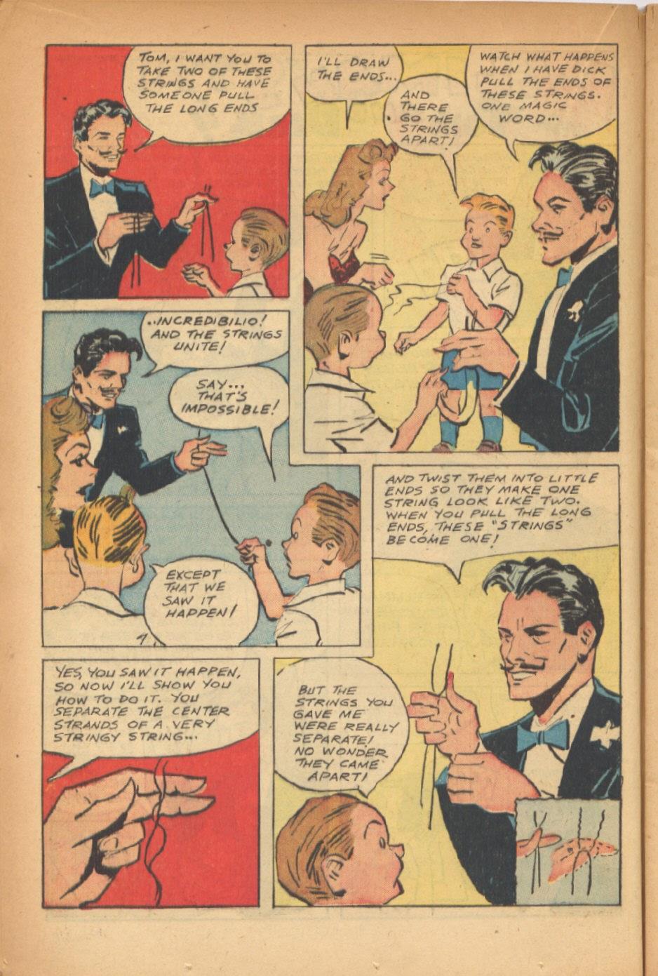 Read online Super-Magician Comics comic -  Issue #47 - 18