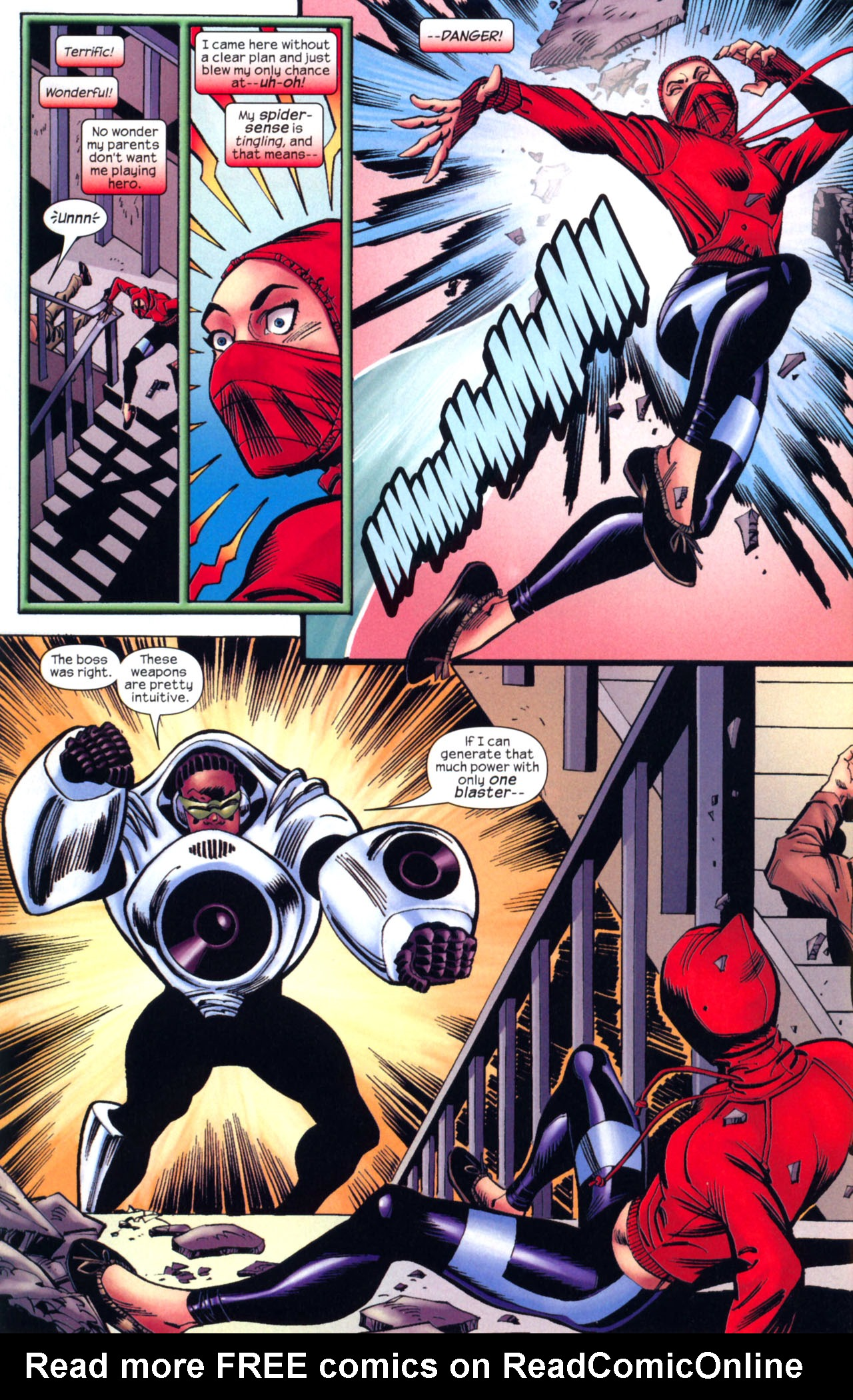 Read online Amazing Spider-Girl comic -  Issue #2 - 10