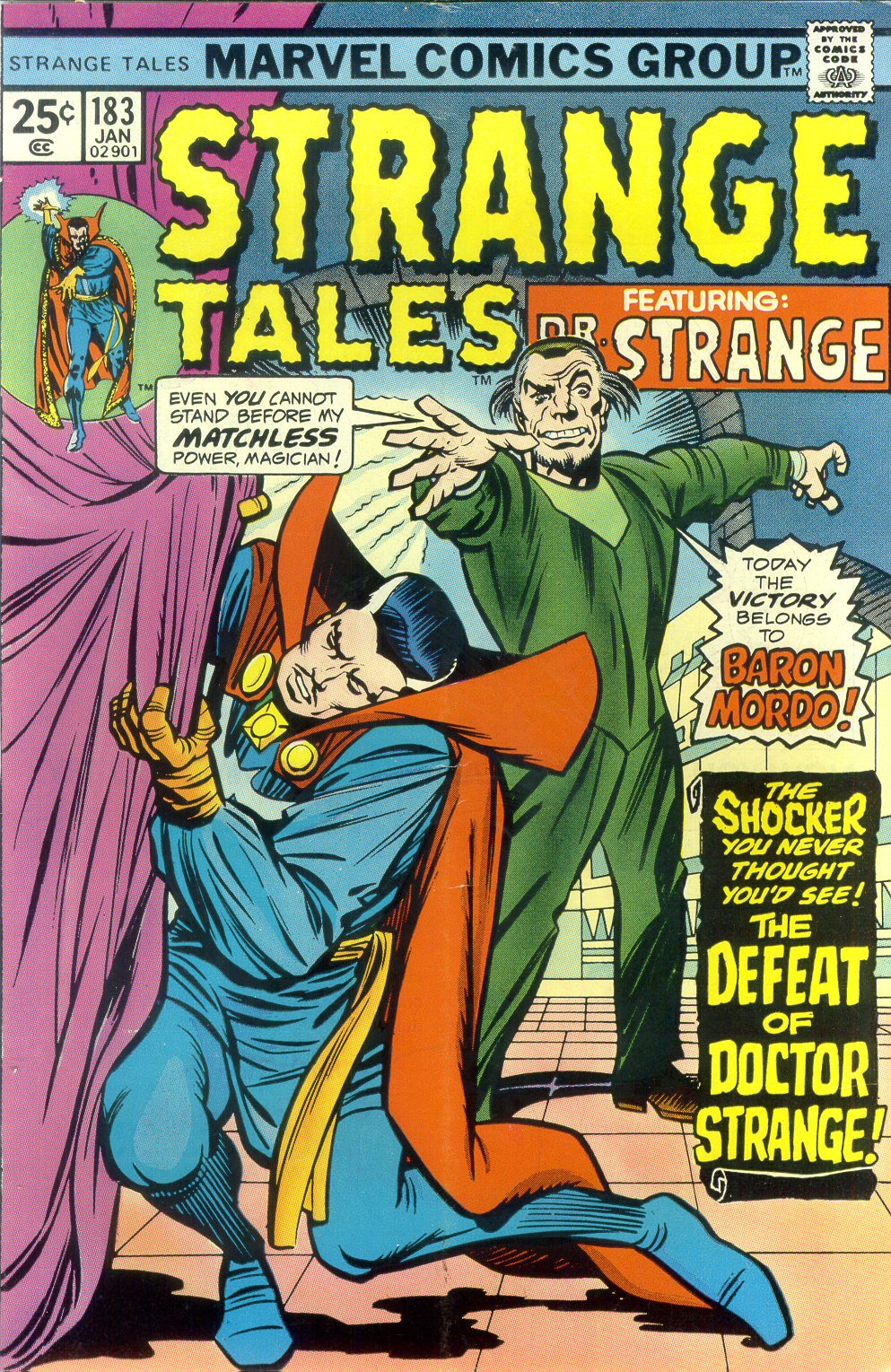 Strange Tales (1951) issue 183 - Page 1