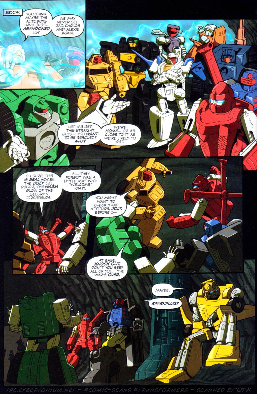 Read online Transformers Armada comic -  Issue #10 - 8