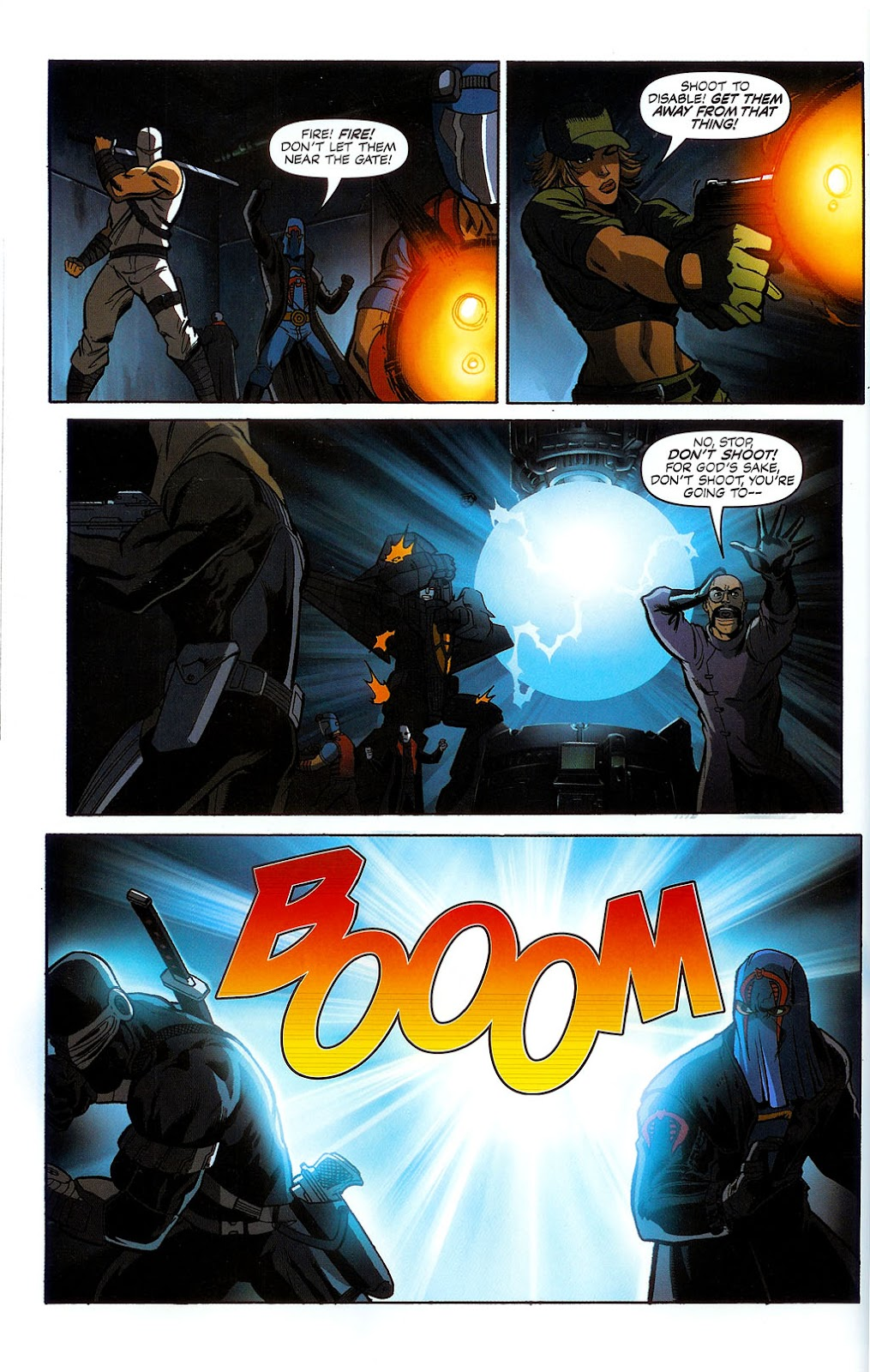 G.I. Joe vs. The Transformers II Issue #1 #2 - English 21