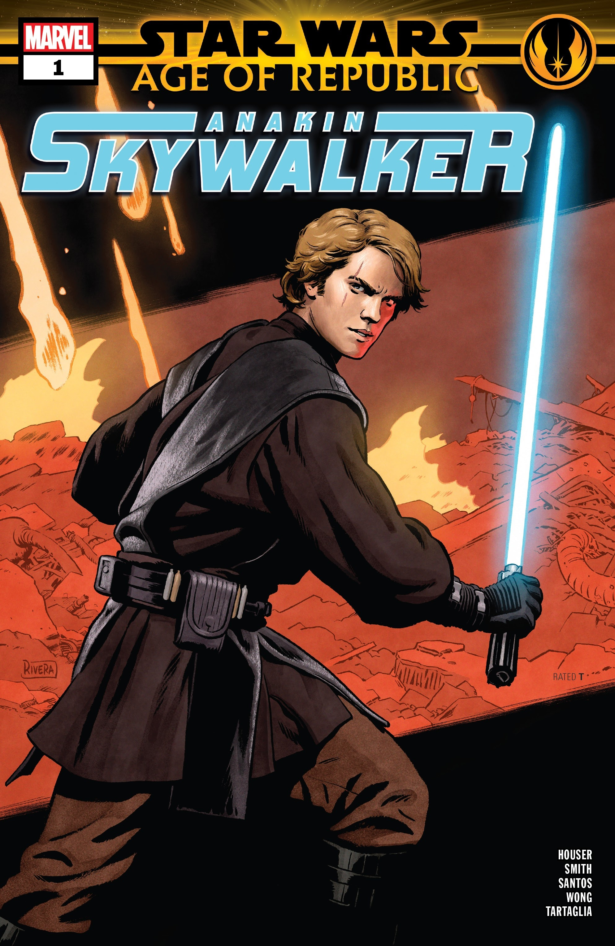 Star Wars: Age of Republic: Anakin Skywalker Full Page 1
