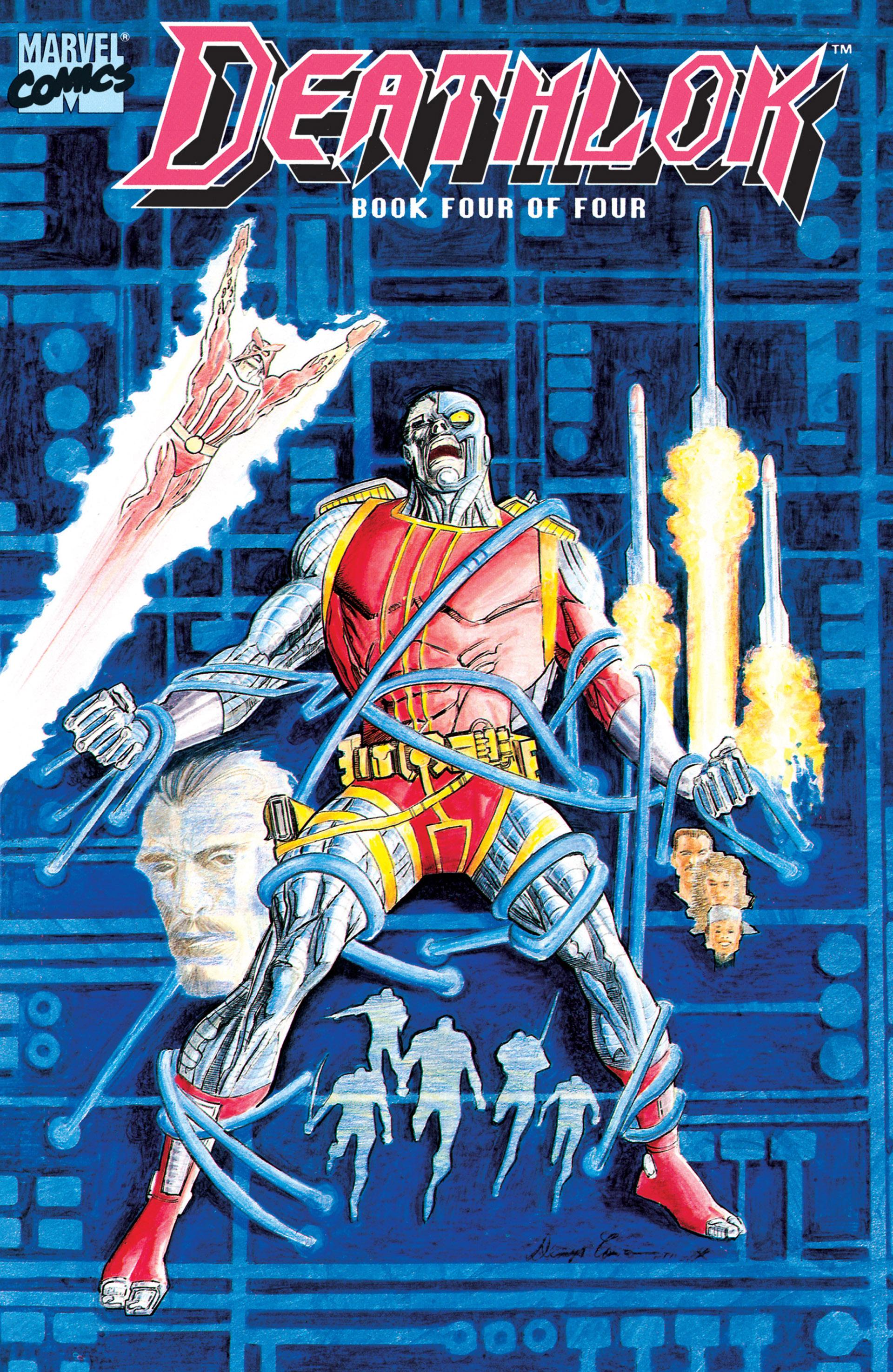 Deathlok (1990) 4 Page 1