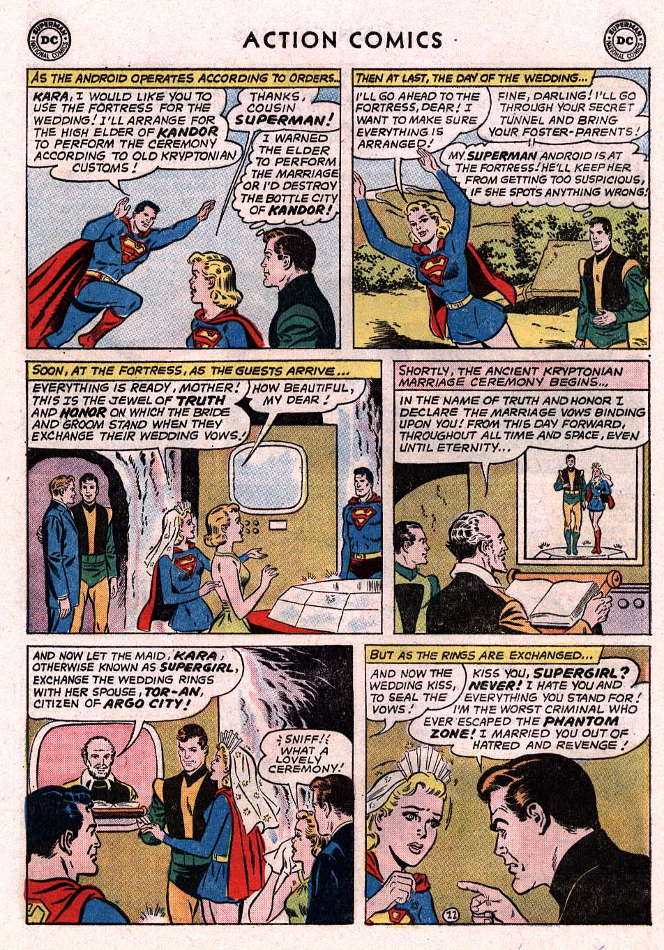 Read online Action Comics (1938) comic -  Issue #307 - 26