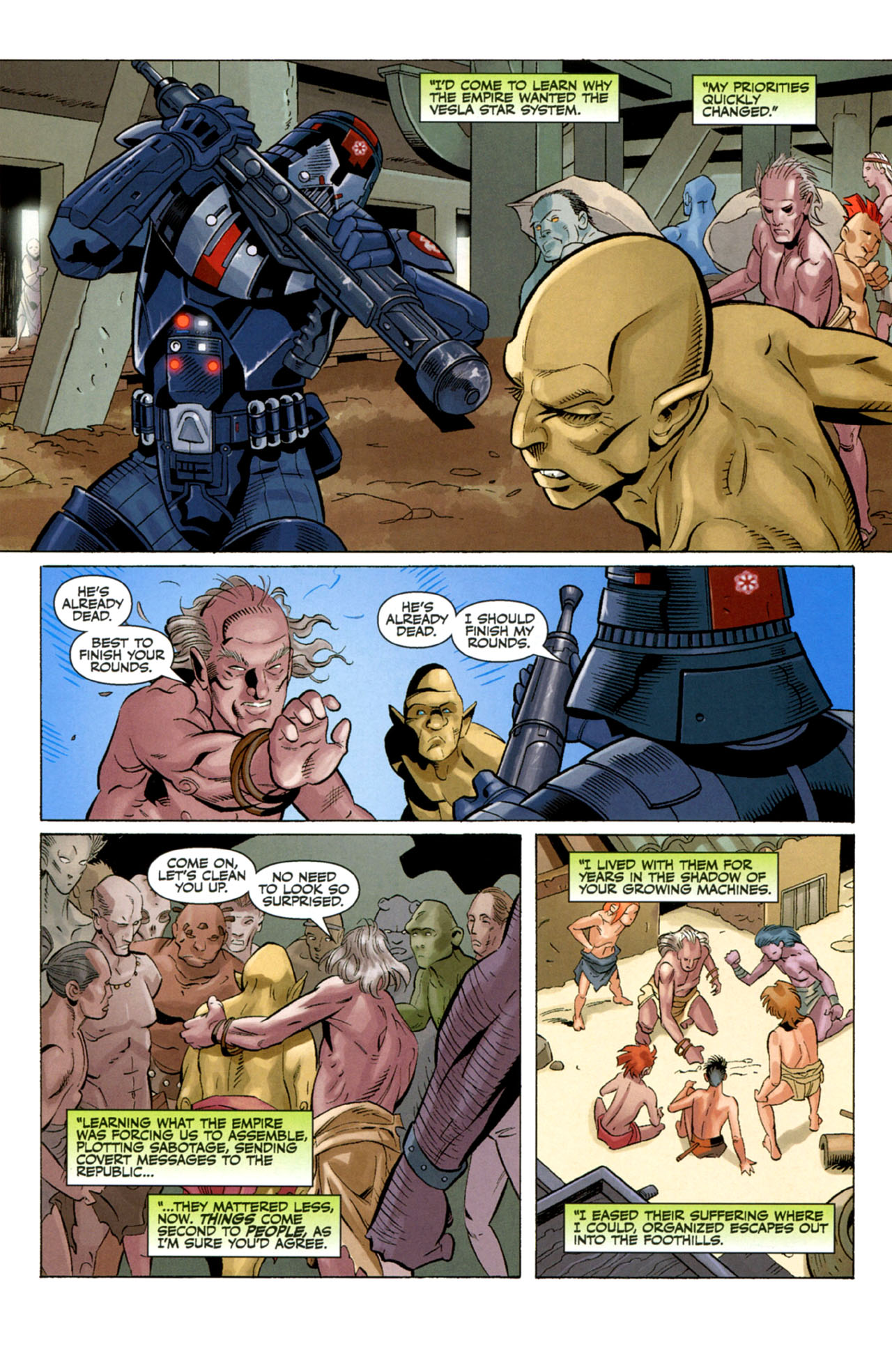Read online Star Wars: The Old Republic - The Lost Suns comic -  Issue #4 - 10