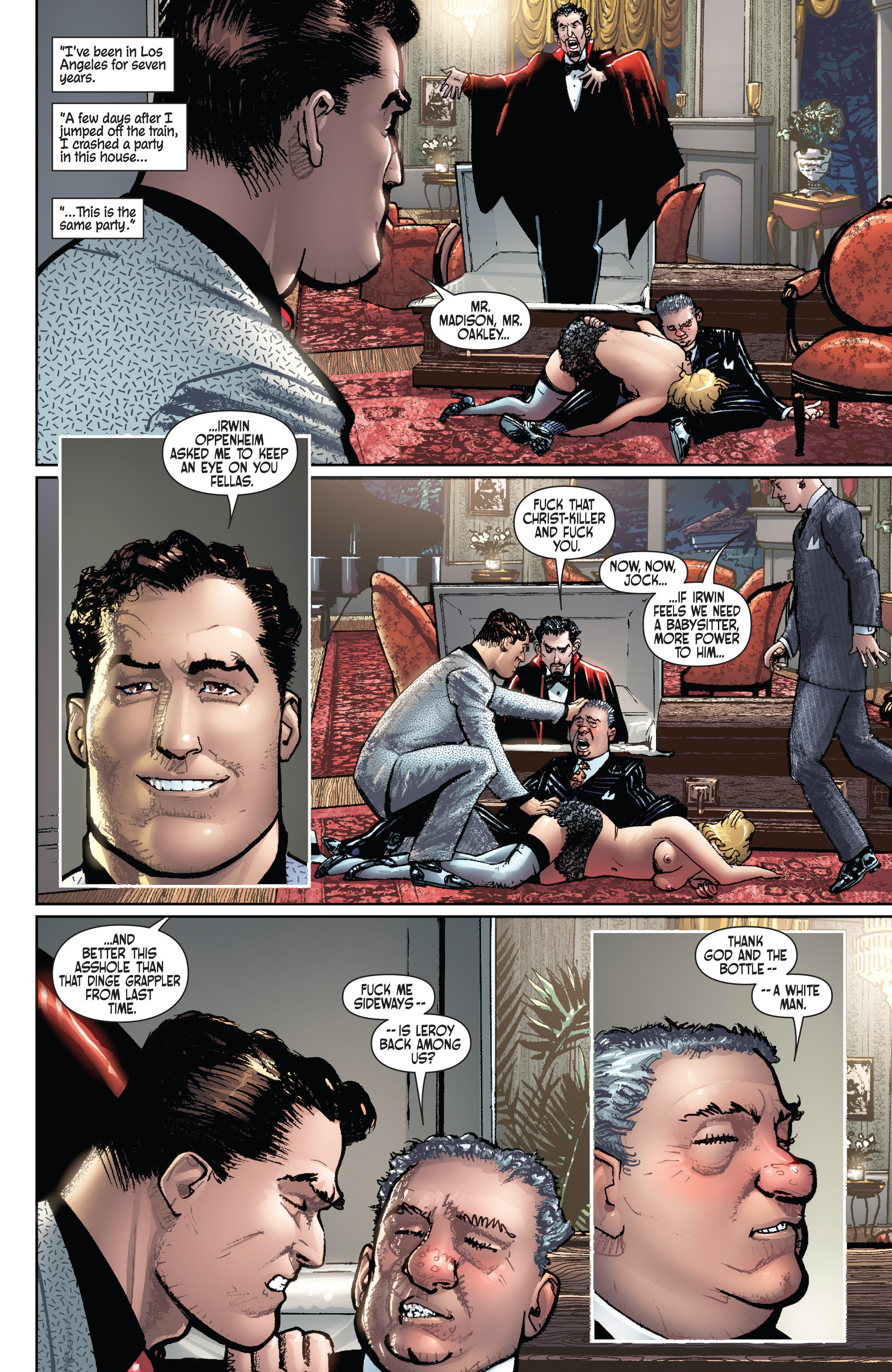 Read online Dominic Fortune comic -  Issue #1 - 14