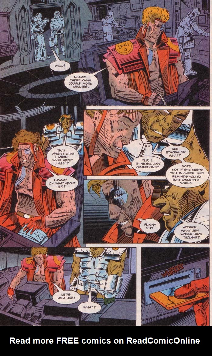 Read online Cyberspace 3000 comic -  Issue #5 - 21