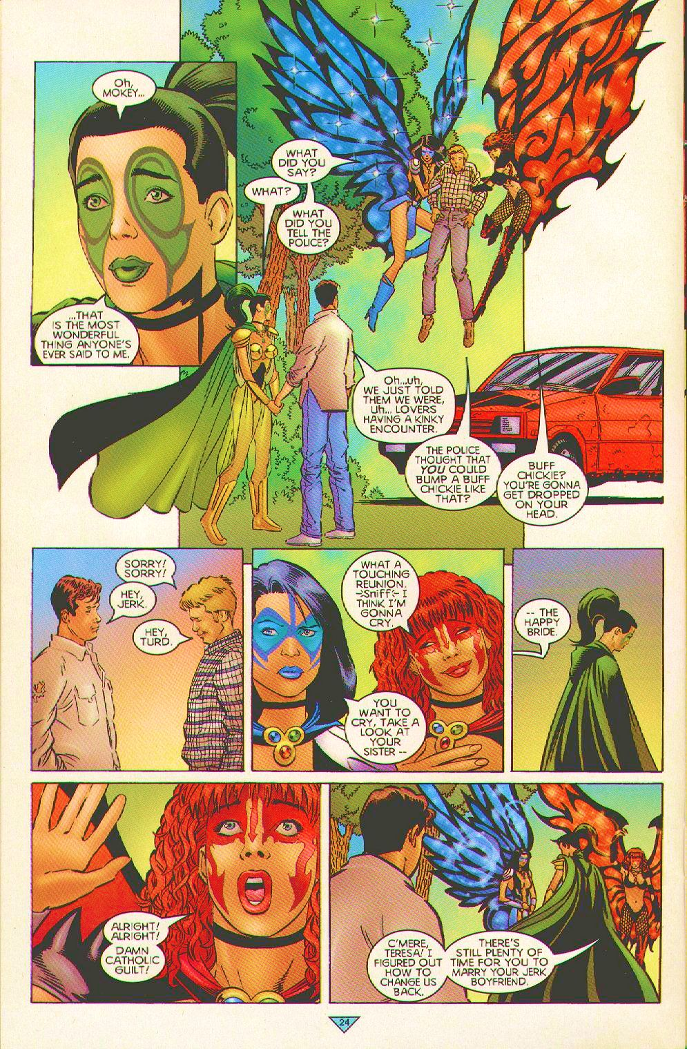 Read online Trinity Angels comic -  Issue #3 - 19