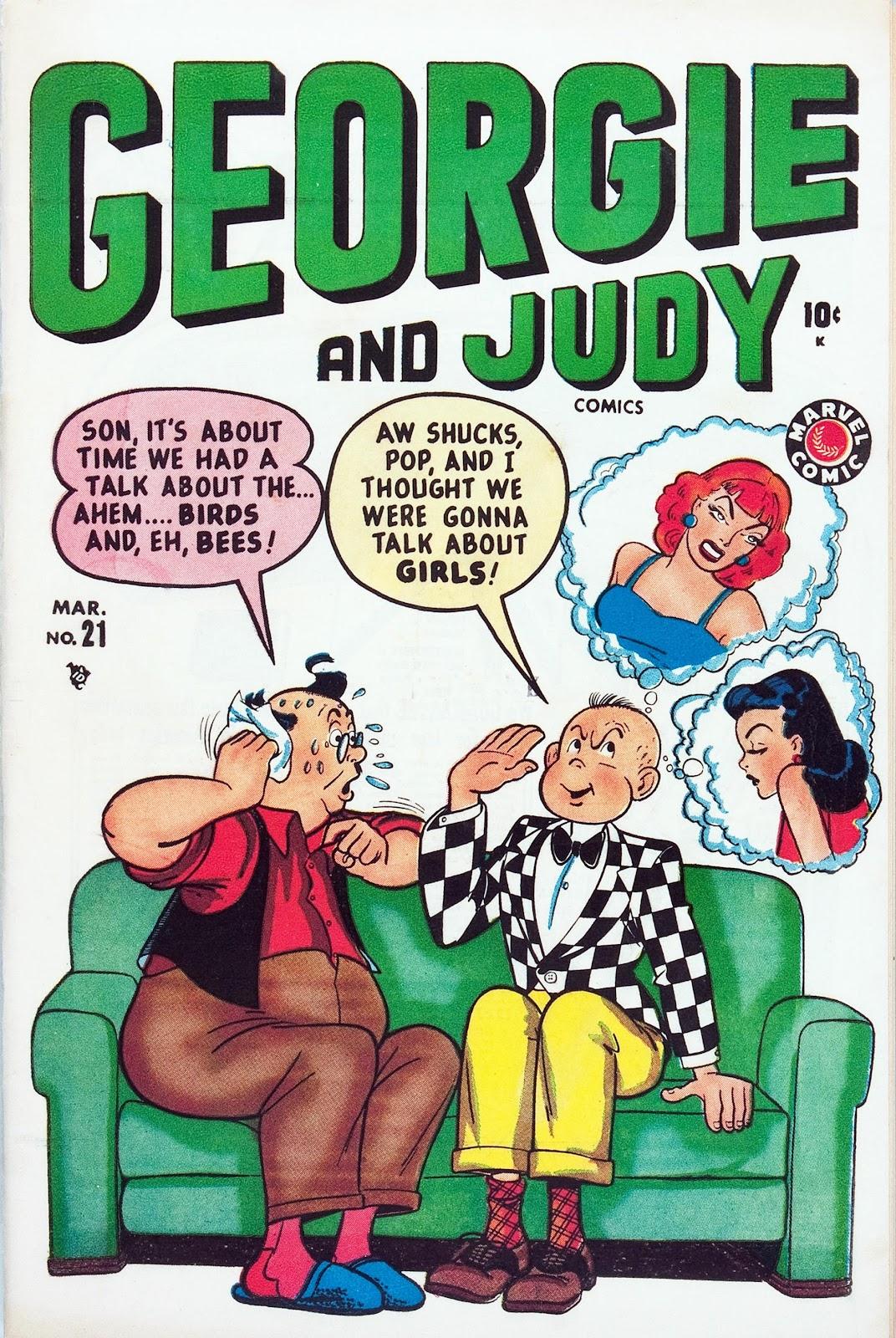 Georgie And Judy Comics 21 Page 1