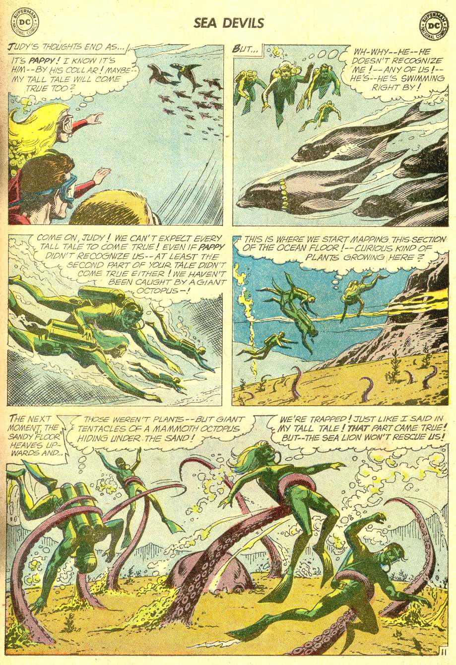 Read online Sea Devils comic -  Issue #10 - 16