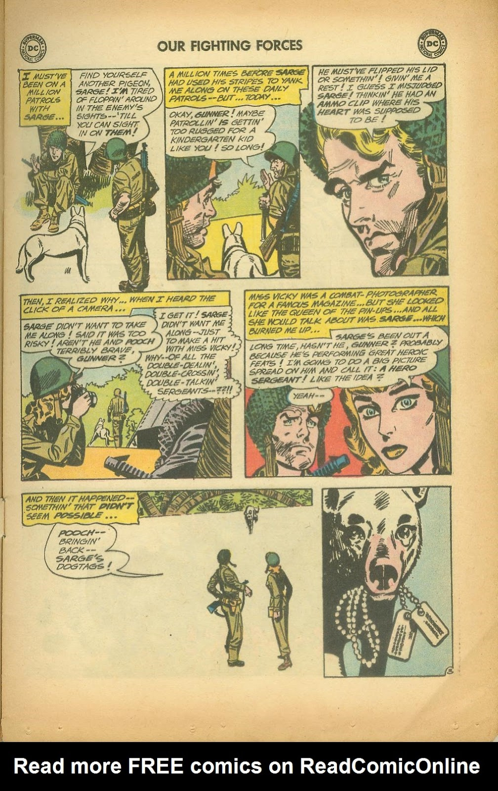Our Fighting Forces (1954) issue 65 - Page 5