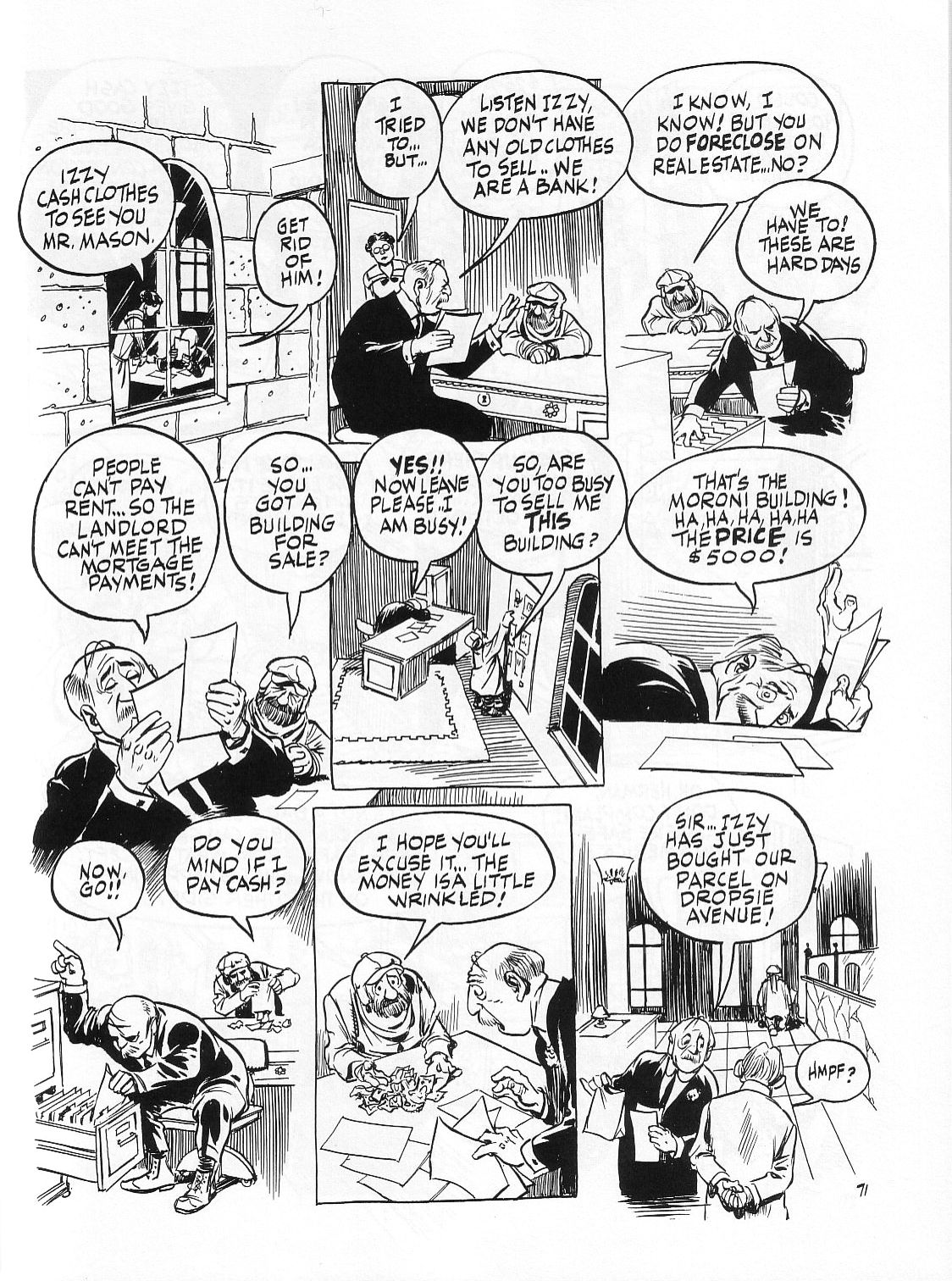 Read online Dropsie Avenue, The Neighborhood comic -  Issue # Full - 73