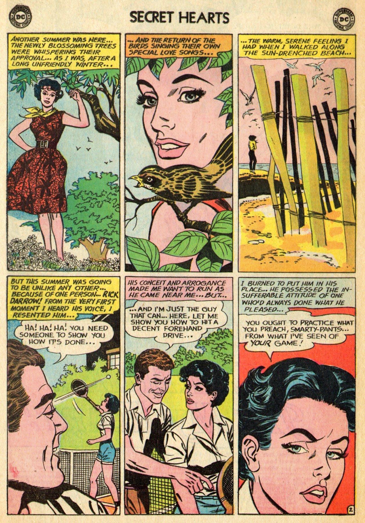 Read online Secret Hearts comic -  Issue #96 - 4