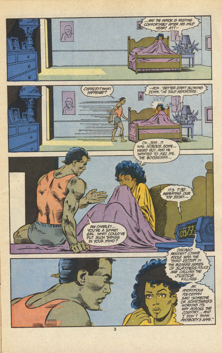 Read online Justice (1986) comic -  Issue #16 - 4
