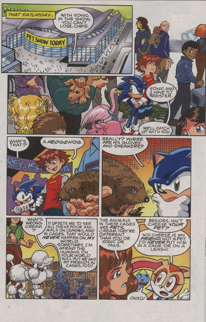 Read online Sonic X comic -  Issue #36 - 18