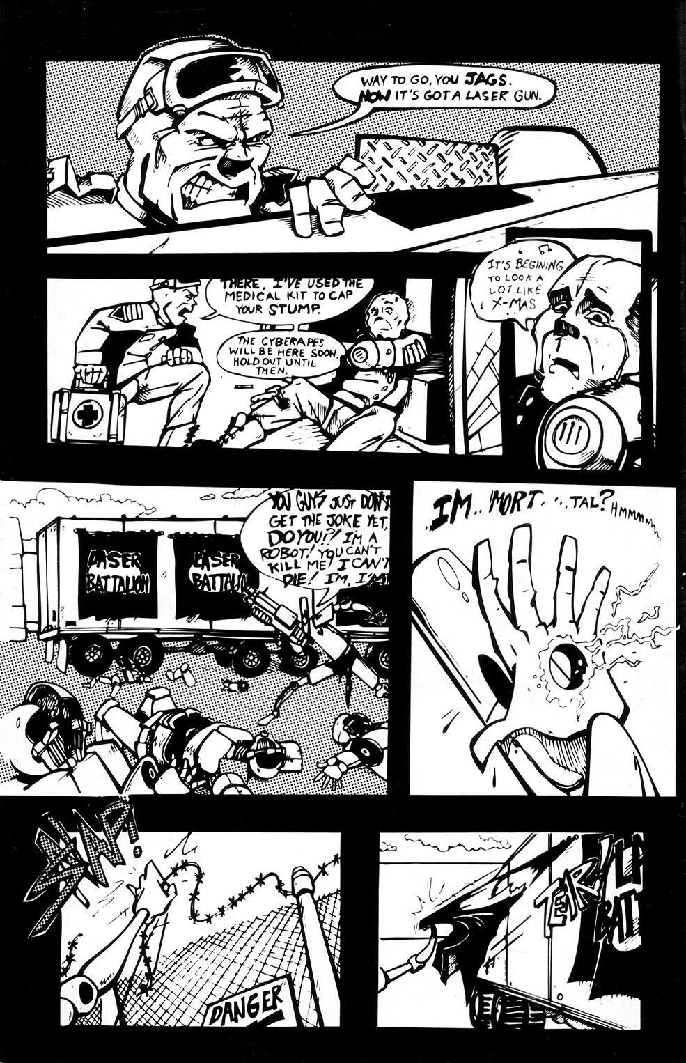 Read online Scud: The Disposable Assassin (1994) comic -  Issue #3 - 6