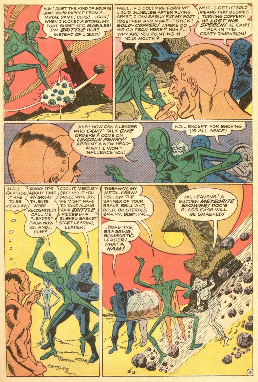 Metal Men (1963) issue 30 - Page 6