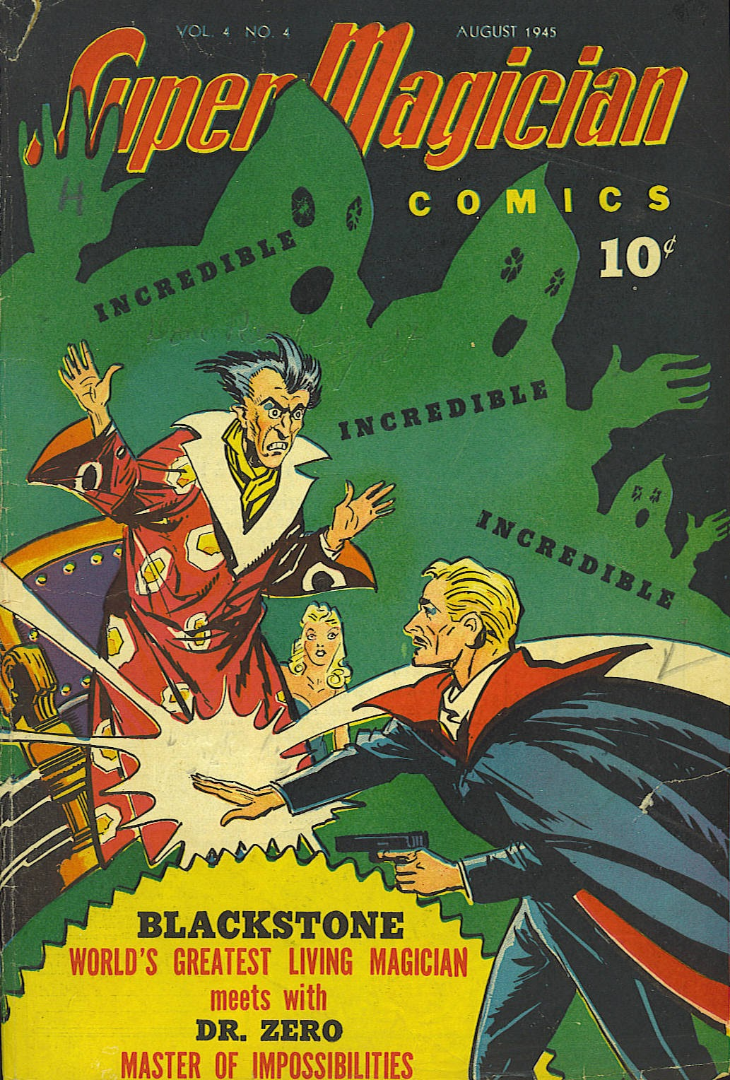 Read online Super-Magician Comics comic -  Issue #40 - 1