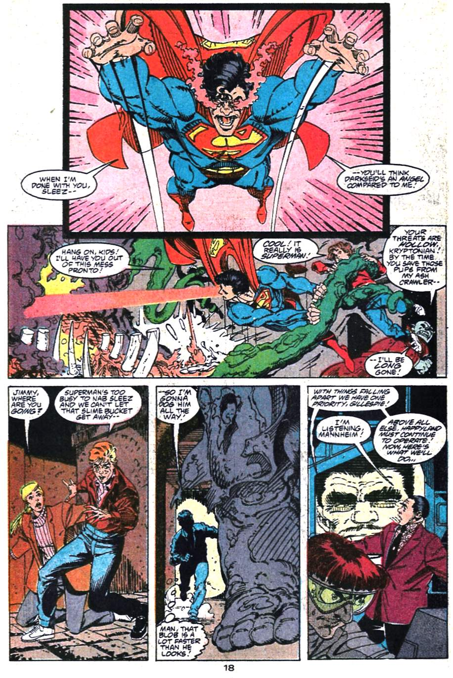Read online Adventures of Superman (1987) comic -  Issue #475 - 19