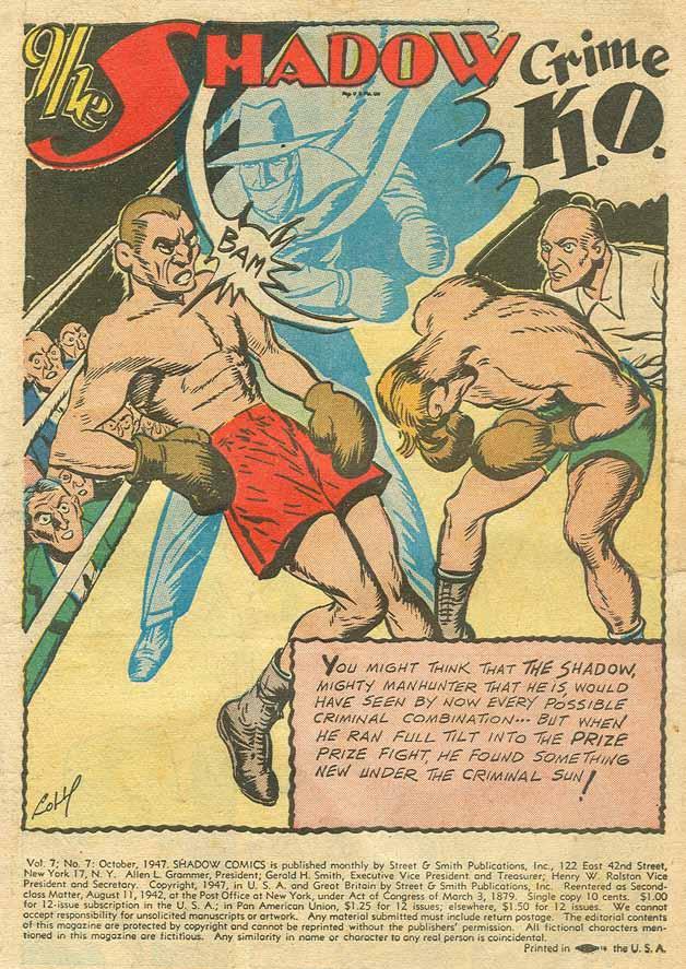 Read online Shadow Comics comic -  Issue #79 - 2