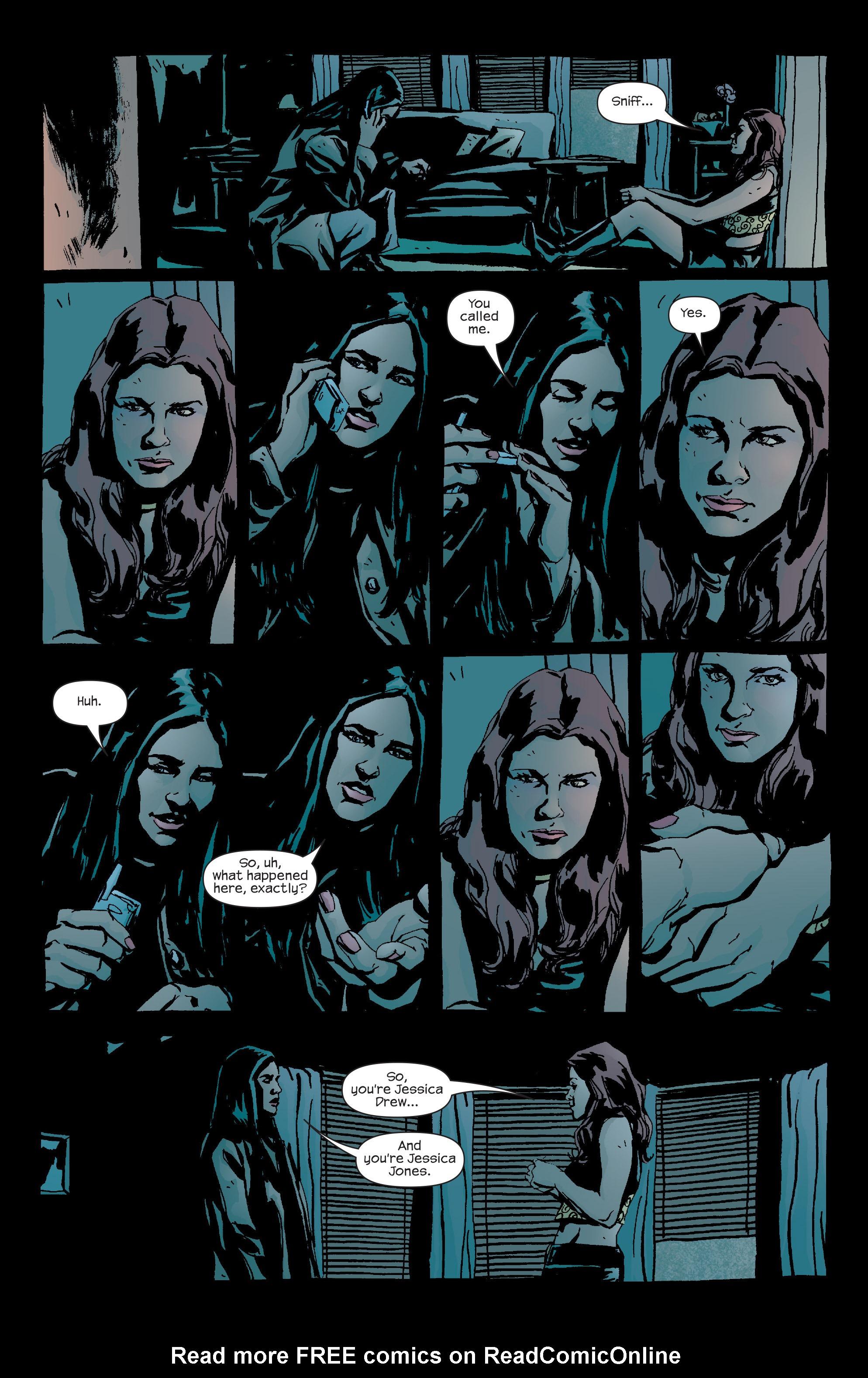 Read online Alias comic -  Issue #20 - 5